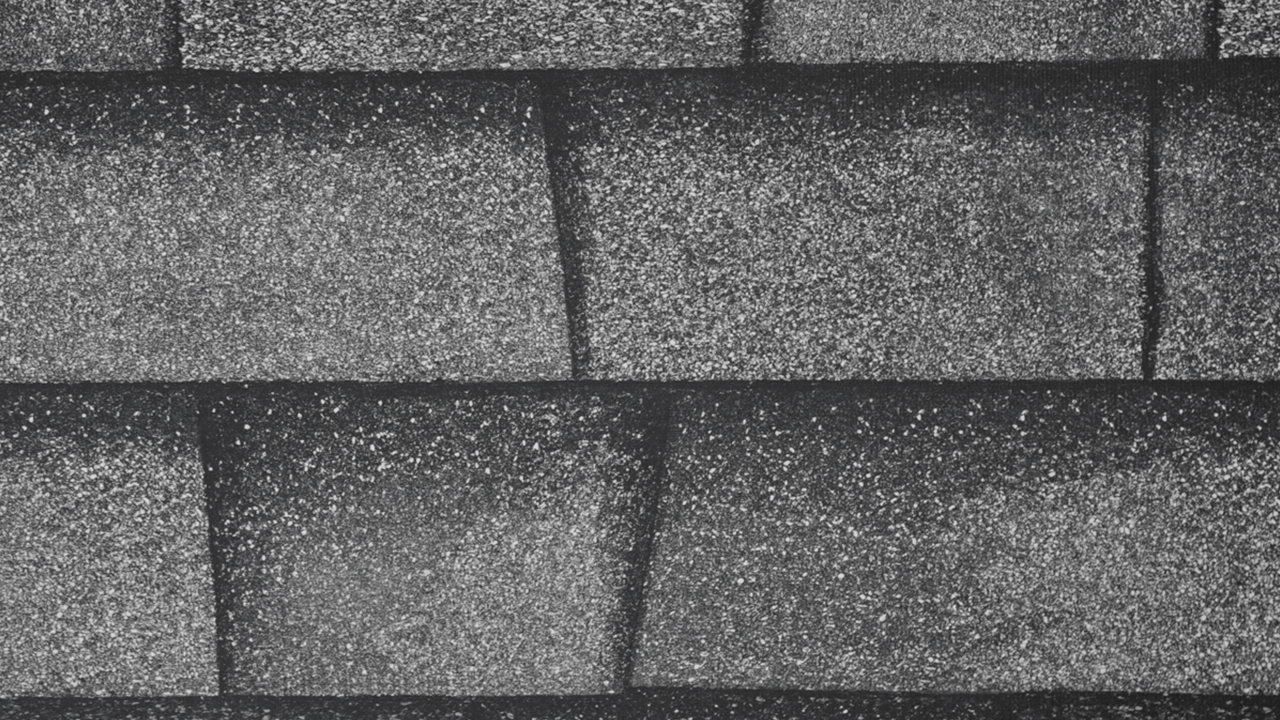 Shingle Print Roof