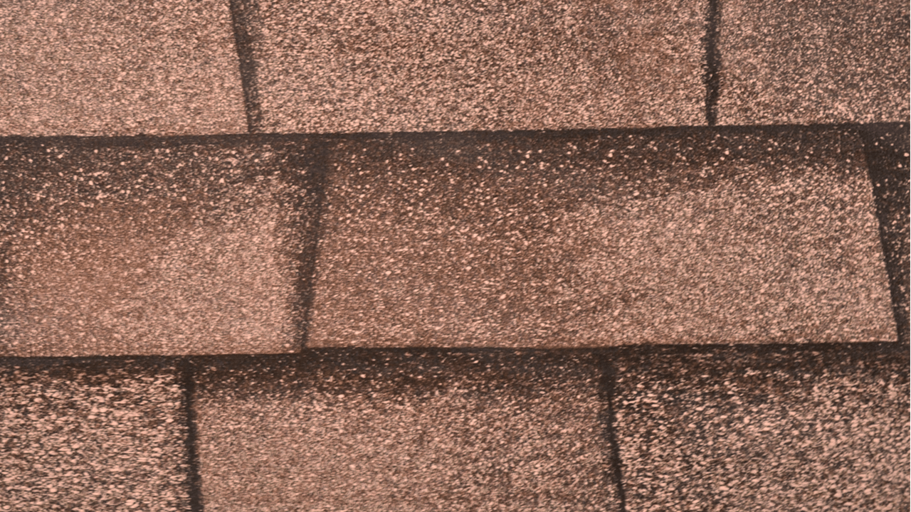 Brown Shingle Print Roof