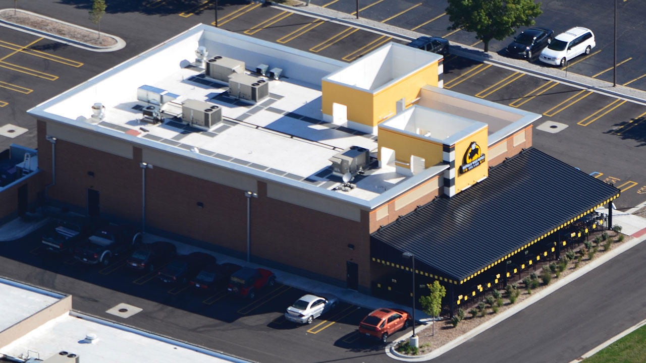 Restaurant Roofing - Commercial Roofing for Restaurants | Duro-Last on hood vents for restaurants, awnings for restaurants, exhaust vent for restaurants, roof vents commercial,